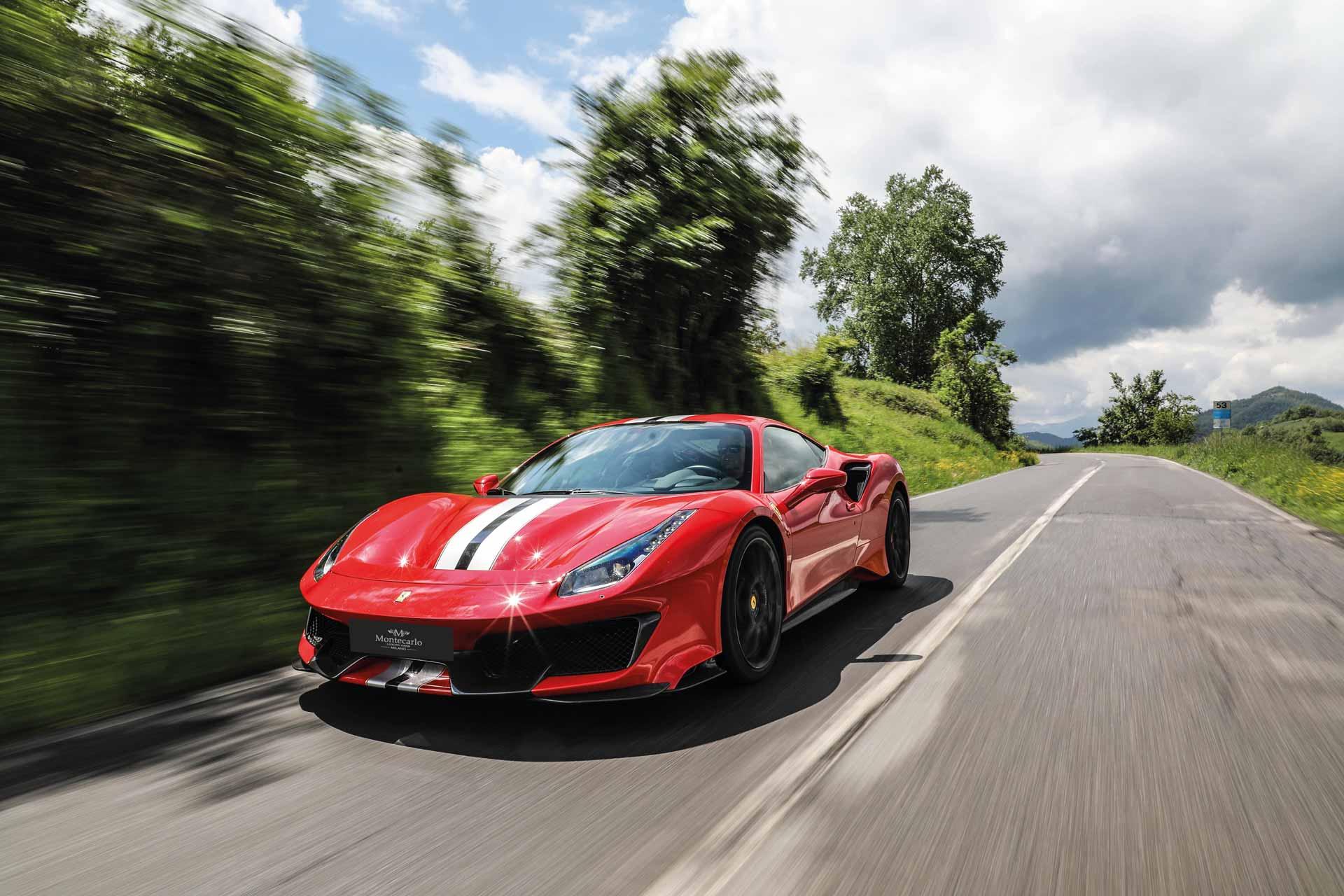 Rent a Ferrari 488 Pista Coupe