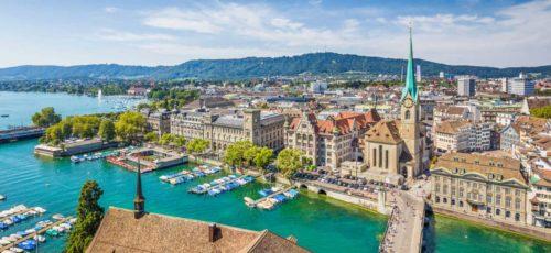 Luxury rental car Zurich