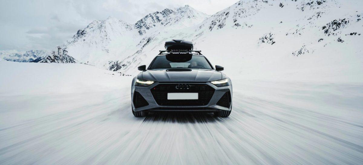 Rent Audi RS6 ski resort