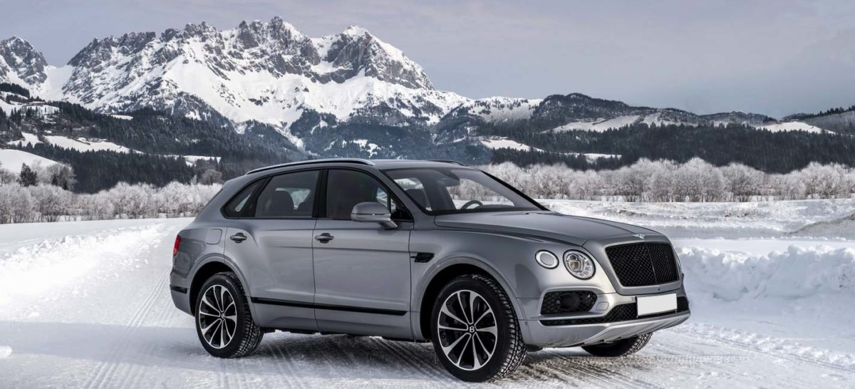 Rent Bentley Bentayga ski resort