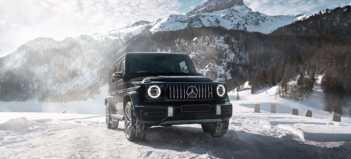 Rent Mercedes-AMG G63 ski resort