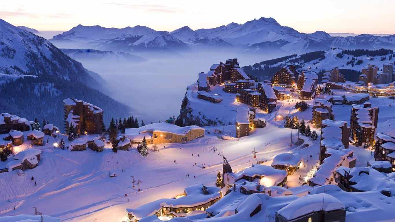 Rent a Luxury Car in Courchevel